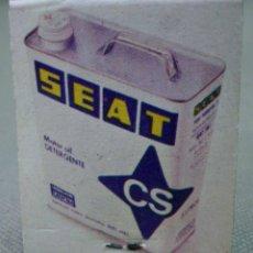 Cajas de Cerillas: CAJA DE CERILLAS, PUBLICIDAD ACCESORIOS MORALES, SEAT. Lote 42744240