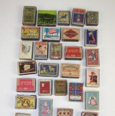 Cajas de Cerillas: LOTE DE 33 DIVERSAS CAJAS DE CERILLAS. Lote 43383299