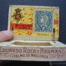 Cajas de Cerillas: CAJA DE CERILLAS DEL GREMIO DE FABRICANTES ( 100 AÑOS, APROX ) - SELLOS NÚMERO 31 ( COLOMBIA ). Lote 43496509
