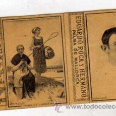 Cajas de Cerillas: CROMO COMPLETO DE CAJA DE CERILLAS EDUARDO ROCA Y HERMANO. MALLORCA PELOTARI SALSAMENDI PELOTA VASCA. Lote 43752655