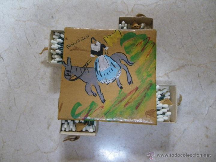 RECUERDO DE MALLORCA FORMADA POR LOTE DE 4 CAJAS DE CERILLAS (Coleccionismo - Objetos para Fumar - Cajas de Cerillas)