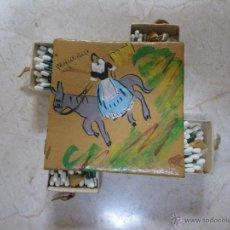 Cajas de Cerillas: RECUERDO DE MALLORCA FORMADA POR LOTE DE 4 CAJAS DE CERILLAS. Lote 44077903