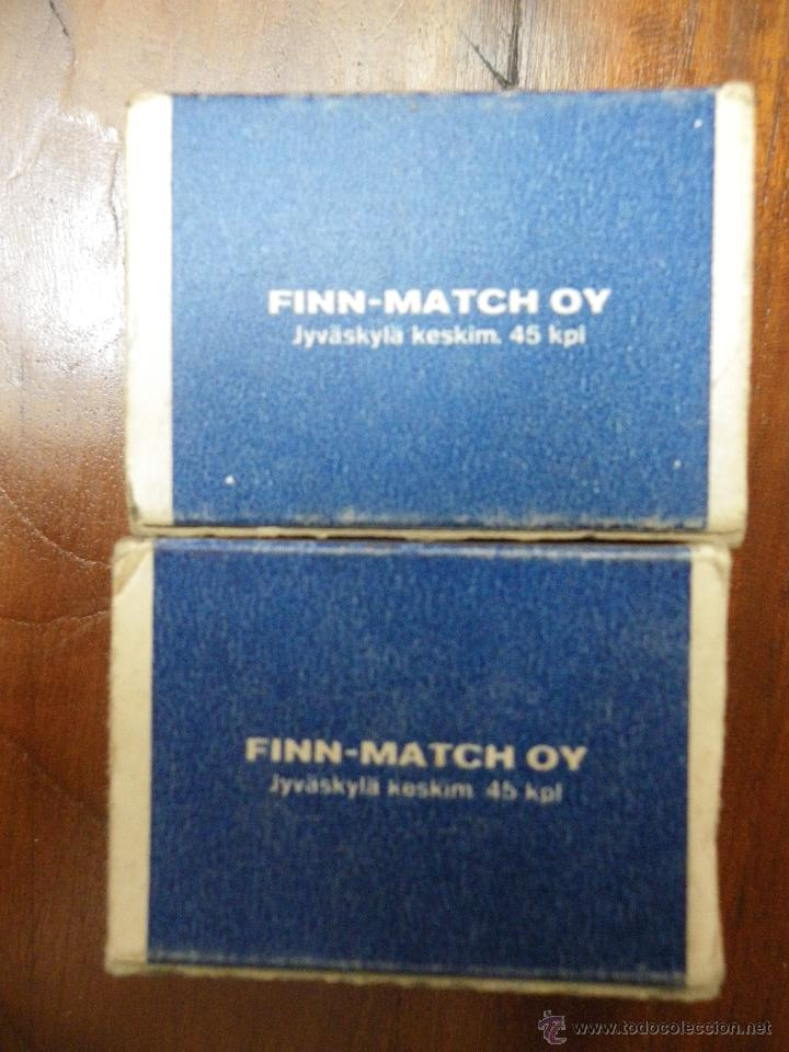 Cajas de Cerillas: 2 cajas de cerillas de Finlandia, Finn-Match Oy - Foto 2 - 44081111