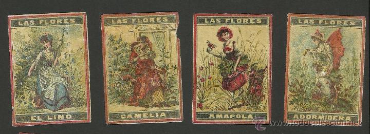 Cajas de Cerillas: LAS FLORES - COLECCION 15 CROMOS CAJAS DE CERILLAS - (V-1155) - Foto 2 - 44428689