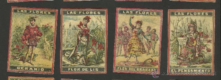 Cajas de Cerillas: LAS FLORES - COLECCION 15 CROMOS CAJAS DE CERILLAS - (V-1155) - Foto 3 - 44428689