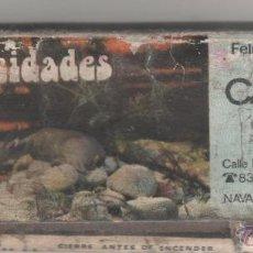 Cajas de Cerillas: CAJA DE CERILLAS CON NUMERO DE LOTERIA AÑOS 70 CASTISOL. Lote 44721352
