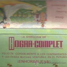 Cajas de Cerillas - ** CC06 - CAJA DE CERILLAS - HOGAR COMPLET - 44798017