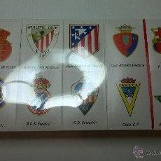 Cajas de Cerillas: CAJAS DE CERILLAS ESCUDOS DE EQUIPOS DE LA 1ª DIVISIÓN 1981-1982. Lote 45545721