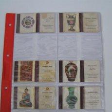 Cajas de Cerillas: OFERTA ESPECIAL CERILLAS. - CARTONES DE CAJAS CERILLAS ANTIGUAS. - CERAMICA CHINA, INDIA, ITALIANA. Lote 45688387