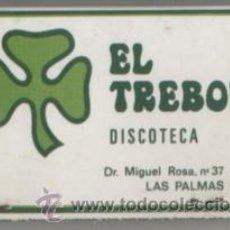 Boîtes d'Allumettes: CAJA DE CERILLA DISCOTECA EL TREBOL PEDIDO MINIMO 5€ CER-1445. Lote 45760137