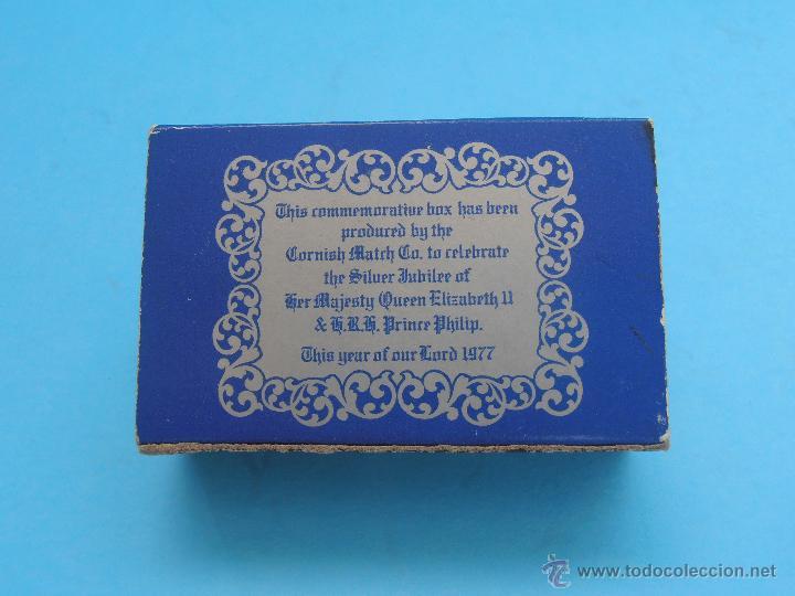 Cajas de Cerillas: Caja cerillas The Queen's Silver Jubilee 1977. Inglaterra Vacía #FV-R - Foto 2 - 41624569