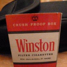Cajas de Cerillas: CERILLAS WINSTON MADRID AÑOS 80. Lote 46714682