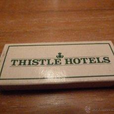 Cajas de Cerillas: CERILLAS THISTLE HOTELS LONDON. Lote 46714803