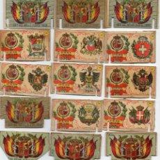 Cajas de Cerillas: CAJAS DE CERILLAS-FOTOTIPIAS INTERIORES GREMIO DE FABRICANTES (LEER DESCRIPCIÓN). Lote 47030897