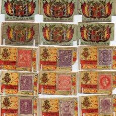 Cajas de Cerillas: CAJAS DE CERILLAS-FOTOTIPIAS INTERIORES GREMIO DE FABRICANTES. Lote 47030944