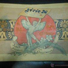Cajas de Cerillas: SERIE 20 ALBUM DE 75 FOTOTIPIAS DE CAJAS DE CERILLAS DE GRANDES PINTORES - COMPLETO CROMOS. Lote 47372554