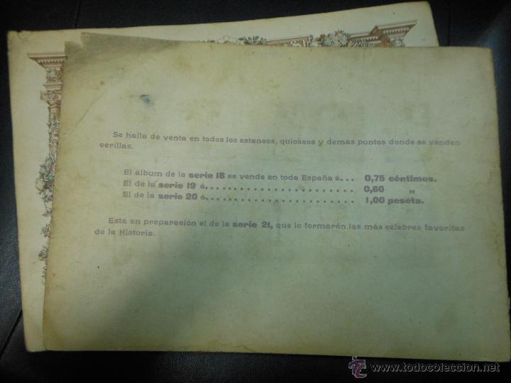 Cajas de Cerillas: SERIE 20 ALBUM DE 75 FOTOTIPIAS DE CAJAS DE CERILLAS DE GRANDES PINTORES - COMPLETO CROMOS - Foto 3 - 47372554
