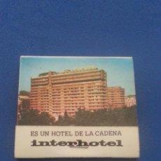 Cajas de Cerillas: CAJA DE CERILLAS LLENA - HOTEL LUZ GRANADA - EN PERFECTO ESTADO. Lote 48415109