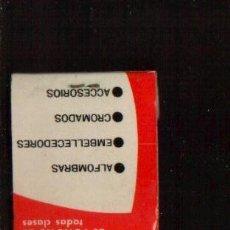 Cajas de Cerillas: CAJA DE CERILLAS - FUNDAUTO - VER FOTOS QUE NO TE FALTE EN TU COLECCION. Lote 48551414
