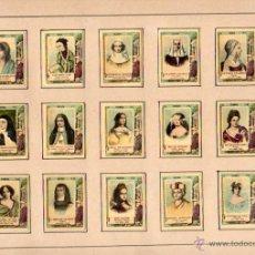 Cajas de Cerillas: SERIE 27 COMPLETA DE CAJAS DE CERILLAS CROMOLITOGRAFÍAS. CELEBRES ESCRITORAS. CIRCA 1910. Lote 48629866