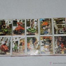 Cajas de Cerillas: (M) LOTE 10 CAJAS CERILLAS -BUEN ESTADO- RECUERDO DE ESPAÑA. Lote 48755800