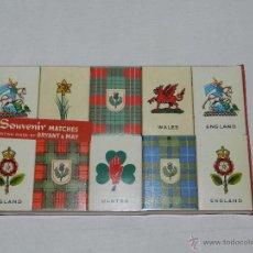 Cajas de Cerillas: (M) LOTE 10 CAJAS CERILLAS BUEN ESTADO - BRITISH. Lote 48755922