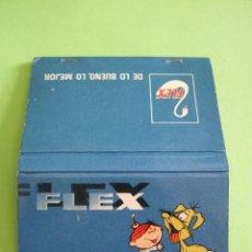 Cajas de Cerillas: CARTERILLA CERILLAS - PUBLICIDAD FLEX -. Lote 48836998