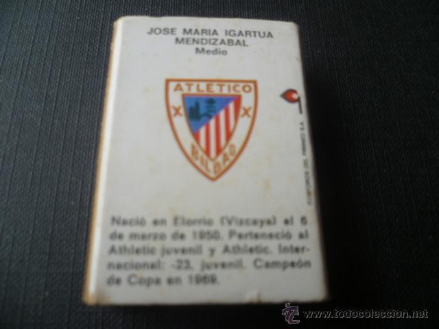 Cajas de Cerillas: CAJA DE CERILLAS ATHLETIC CLUB BILBAO - IGARTUA - FOSFOROS DEL PIRINEO - Foto 2 - 49151532