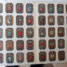 Boîtes d'Allumettes: COLECCION DE 70 ESCUDOS DE PROVINCIAS ESPAÑA DE LAS CAJAS DE CERILLAS ANTIGUOS ORIGINAL. Lote 49230122