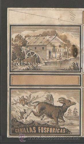 Cajas de Cerillas: CAJAS DE CERILLAS - MARTINEZ Y COMPAÑIA - FABRICA DE LA LUZ ARCHENA - (V-2261) - Foto 2 - 49231306