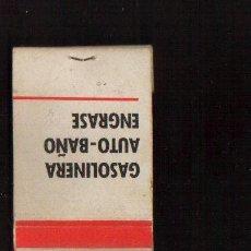 Cajas de Cerillas: CERILLAS PUBLICIDAD -GASOLINERA ALFERSA -- VER FOTOS QUE NO TE FALTE EN TU COLECCION. Lote 49279681
