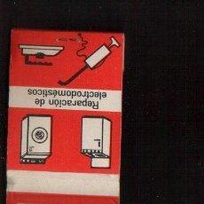 Cajas de Cerillas: CERILLAS PUBLICIDAD - ELECTROMAGAR -- VER FOTOS QUE NO TE FALTE EN TU COLECCION. Lote 49280709