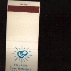 Cajas de Cerillas: CERILLAS PUBLICIDAD ANTIGUA - ENLACE -- VER FOTOS QUE NO TE FALTE EN TU COLECCION. Lote 49443458