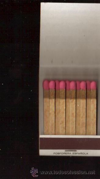 Cajas de Cerillas: CERILLAS PUBLICIDAD ANTIGUA -AUTOS PACIFICO - VER FOTOS QUE NO TE FALTE EN TU COLECCION - Foto 2 - 49728193