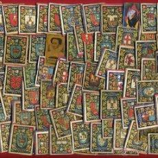 Cajas de Cerillas: LOTE DE 99 ESCUDOS , HERALDICA , PARTE SUPERIOR CAJAS DE CERILLAS, ANTIGUAS , ORIGINALES. Lote 50137843