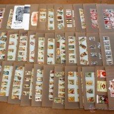 Cajas de Cerillas: IMPORTANTE LOTE CON ALREDEDOR DE 400 CAJAS DE CERRILLAS Y FOTOTIPIAS DEL SIGLO XIX. Lote 50185373