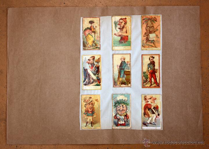 Cajas de Cerillas: IMPORTANTE LOTE CON ALREDEDOR DE 400 CAJAS DE CERRILLAS Y FOTOTIPIAS DEL SIGLO XIX - Foto 5 - 50185373