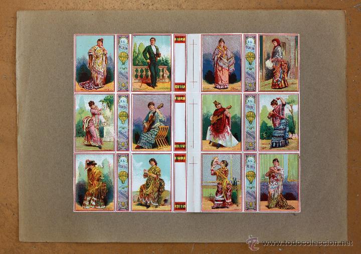 Cajas de Cerillas: IMPORTANTE LOTE CON ALREDEDOR DE 400 CAJAS DE CERRILLAS Y FOTOTIPIAS DEL SIGLO XIX - Foto 10 - 50185373