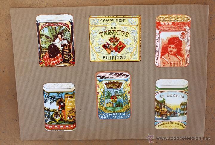 Cajas de Cerillas: IMPORTANTE LOTE CON ALREDEDOR DE 400 CAJAS DE CERRILLAS Y FOTOTIPIAS DEL SIGLO XIX - Foto 27 - 50185373