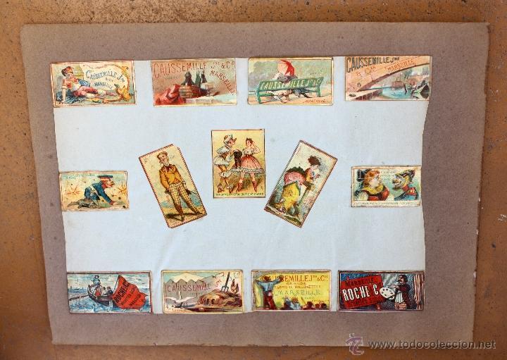 Cajas de Cerillas: IMPORTANTE LOTE CON ALREDEDOR DE 400 CAJAS DE CERRILLAS Y FOTOTIPIAS DEL SIGLO XIX - Foto 31 - 50185373