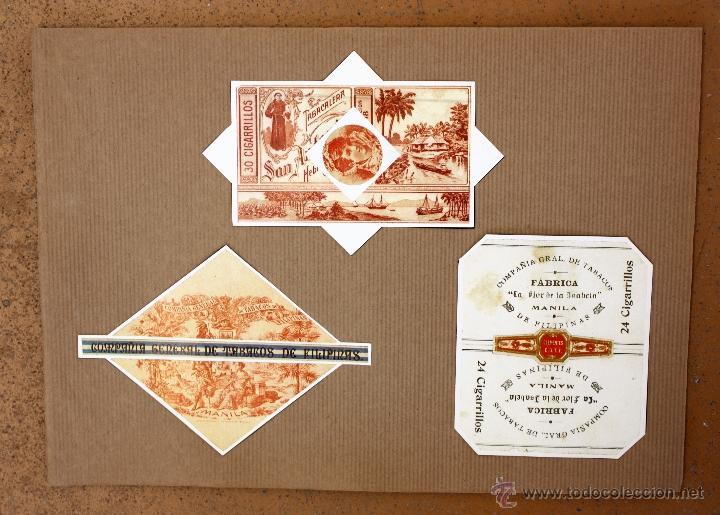 Cajas de Cerillas: IMPORTANTE LOTE CON ALREDEDOR DE 400 CAJAS DE CERRILLAS Y FOTOTIPIAS DEL SIGLO XIX - Foto 32 - 50185373
