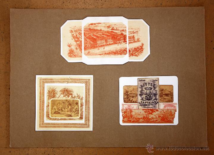 Cajas de Cerillas: IMPORTANTE LOTE CON ALREDEDOR DE 400 CAJAS DE CERRILLAS Y FOTOTIPIAS DEL SIGLO XIX - Foto 33 - 50185373