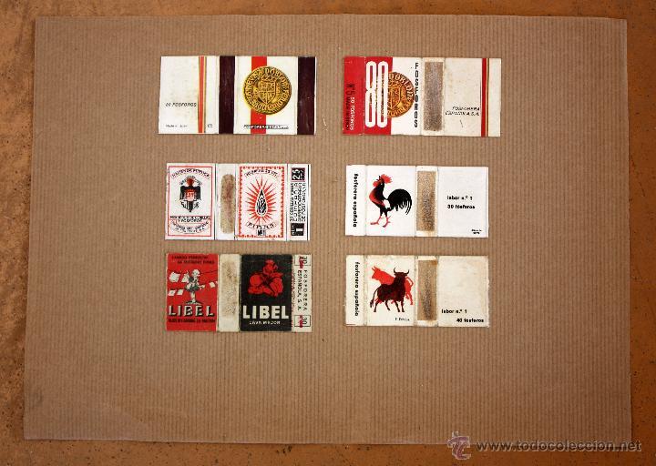 Cajas de Cerillas: IMPORTANTE LOTE CON ALREDEDOR DE 400 CAJAS DE CERRILLAS Y FOTOTIPIAS DEL SIGLO XIX - Foto 34 - 50185373