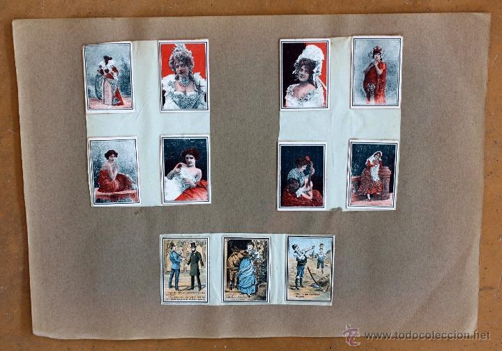 Cajas de Cerillas: IMPORTANTE LOTE CON ALREDEDOR DE 400 CAJAS DE CERRILLAS Y FOTOTIPIAS DEL SIGLO XIX - Foto 35 - 50185373