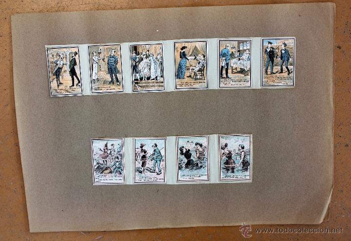 Cajas de Cerillas: IMPORTANTE LOTE CON ALREDEDOR DE 400 CAJAS DE CERRILLAS Y FOTOTIPIAS DEL SIGLO XIX - Foto 36 - 50185373