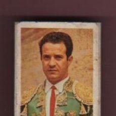 Cajas de Cerillas: CAJA DE CERILLLAS SERIE GRANDES DIESTROS - TOROS - EL FAMOSO MATADOR TORERO DIEGO PUERTA . Lote 50397521