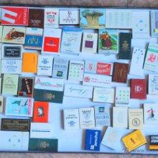 Cajas de Cerillas: COLECCION 63 CAJAS CERILLAS PUBLICIDAD NUEVAS. Lote 50500532