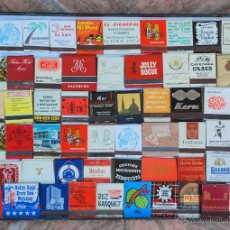 Cajas de Cerillas: COLECCION 152 CARTERITAS CERILLAS PUBLICIDAD NUEVAS. Lote 50500738