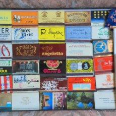 Cajas de Cerillas: COLECCION 82 CARTERITAS CERILLAS PUBLICIDAD GRANDES NUEVAS. Lote 50500945