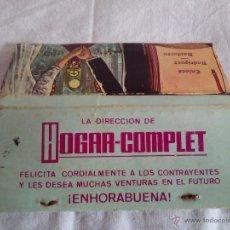 Cajas de Cerillas - CAJA DE CERILLAS GRAL. FOSFORERA S.A. PUBLICITARIA HOGAR-COMPLET DE ENLACE MATRIMONIAL (CON GRABADO) - 50786725